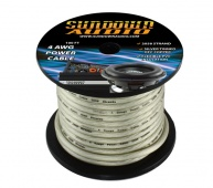 Sundown Audio 4 Ga Silver