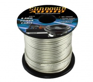 Sundown Audio 8 Ga Silver